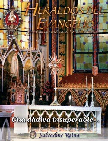Revista Heraldos del Evangelio - Asociación Cultural Salvadme ...