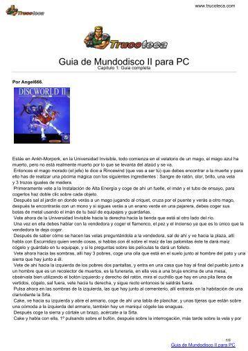 Guia de MUNDODISCO II para PC - Trucoteca.com
