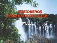 MISIONEROS EUCARISTICOS LAICOS - Misioneras del Santísimo ...