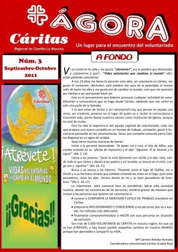 Boletín Agora Septiembre - Octubre 2011 (pdf) - Cáritas diocesana ...