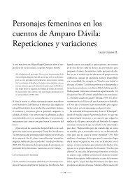 Personajes femeninos en los cuentos de Amparo Dávila ... - UAM