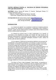 Medidas contra la violencia de género percibidas por l@s ... - Sergas