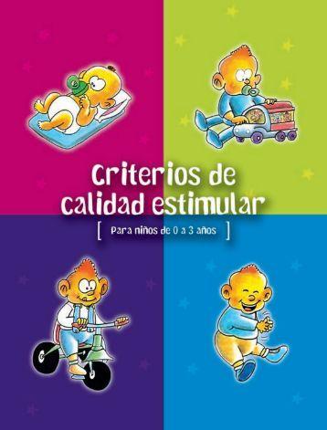 Criterios de calidad estimular - Comunidad Autónoma de la Región ...