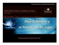 Deja la Basura y el Pasado en su lugar… - Iglesia Yeshúa, Palabra ...