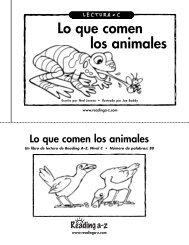 Lo que comen los animales.pdf - Theresa Murphy