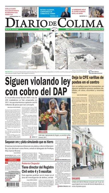 Deja La Cfe Varillas De Postes En El Centro Universidad De