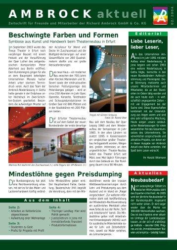 Arbeiten an Kettenbrücke abgeschlossen Aufwertung der ... - Ambrock