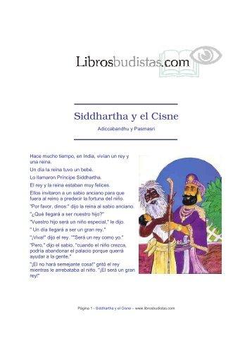 Siddhartha y el Cisne Documento PDF (Adobe) - Libros Budistas