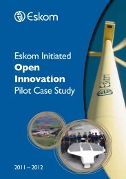 Eskom Case Study Aug 2012 - SAINe