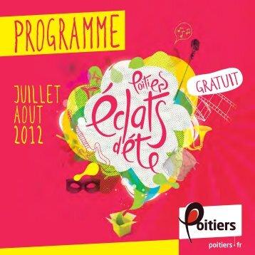 PROGRAMME - Ville de Poitiers
