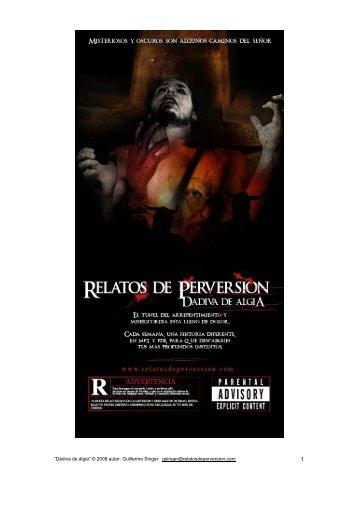 Dádiva de álgia - Relatos de Perversión