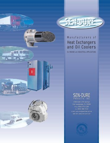 View Our Catalog - Sen-Dure revised - Sen-Dure Products, Inc.