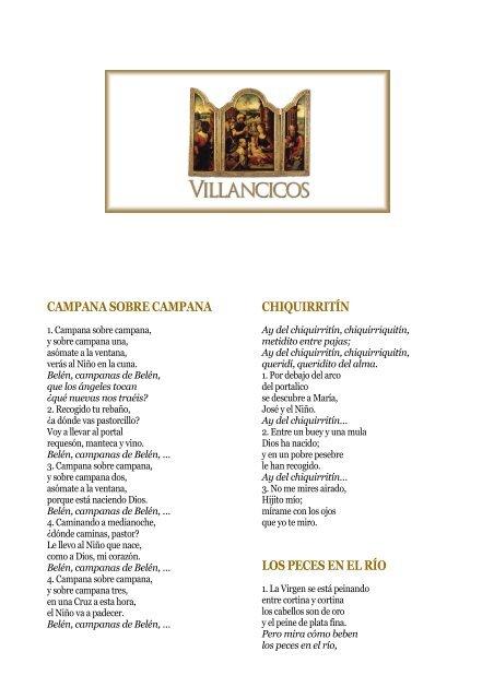 Imagenes De Villancicos Campana Sobre Campana.Pdf Villancicos Populares Opus Dei