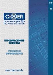 Informaciones Técnicas - Ciser