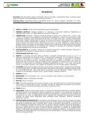 feldspato propriedades aplicabilidade ocorrencias - Pormin.gov.br