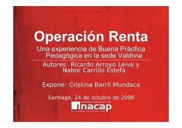 Operación Renta, Sede Valdivia - Inacap