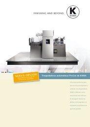 Kama ProCut Brochure - BG Solutions