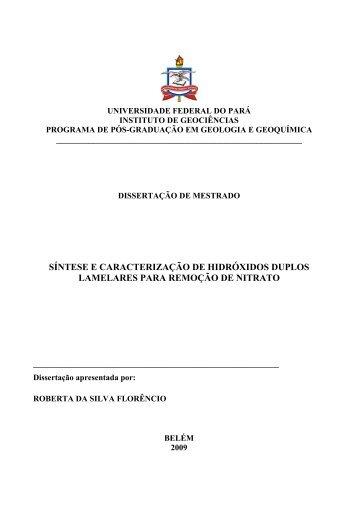 Acessar Resumo - Programa de Pós-Graduação em Geologia e ...