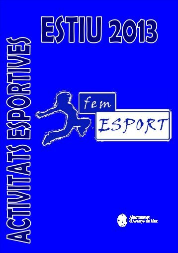 Activitats_d'Estiu_2013 - Ajuntament d'Arenys de Mar