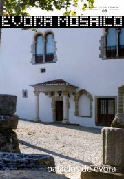 palácios de évora - Câmara Municipal de Évora