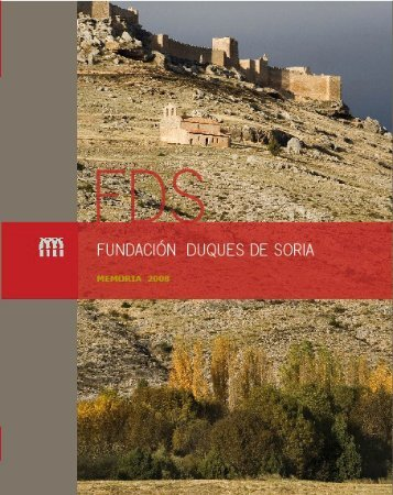 presentación memo08 - Fundacion Duques de Soria