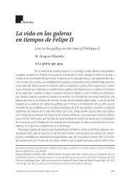 La vida en las galeras en tiempos de Felipe II - Fundación Pfizer