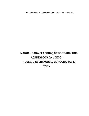 Manual para elaboração de trabalhos acadêmicos - labcon - ufsc