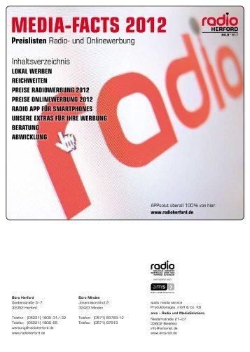 RadiO ReicHWeiteN - ams