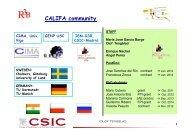 CALIFA community - CSIC