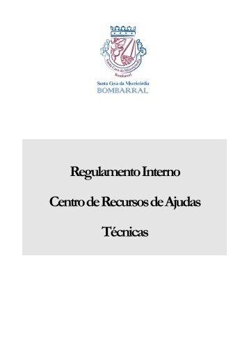 Regulamento Interno Centro de Recursos de Ajudas Técnicas