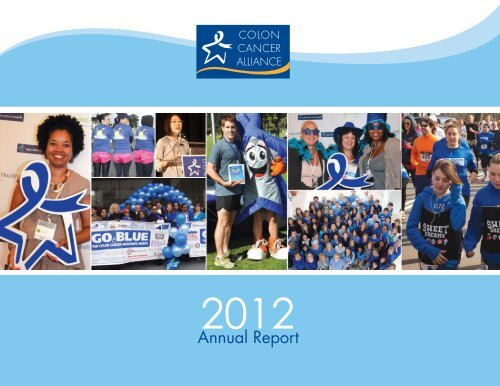 read the full 2012 Annual Report - Colon Cancer Alliance