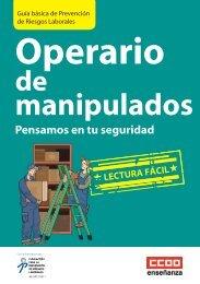 Guia Manipulador.indd - Federación de Enseñanza, CC.OO. - CCOO