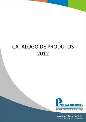 linha de produtos para análises veterinárias - Probac do Brasil