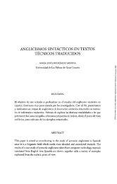 Anglicismos sintácticos en textos técnicos traducidos - Acceda ...