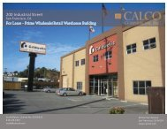 200 Industrial Property Brochure - Calco Commercial, Inc.