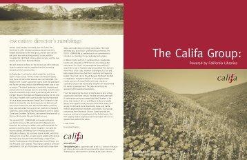 FY 10-11 Annual Report - Califa