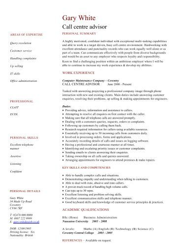 beauty therapist cv template