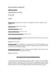 Adolfo Drescher Caldas v. Uruguay, Communication ... - Bayefsky.com