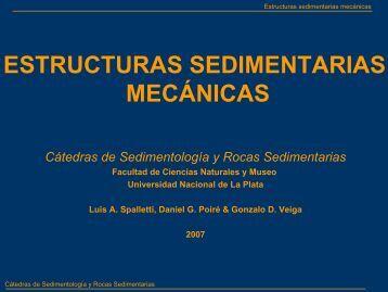 estructuras sedimentarias mecánicas - Facultad de Ciencias ...