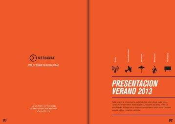 presentación verano 2013 mediamax v2.2 - Mediamax Argentina
