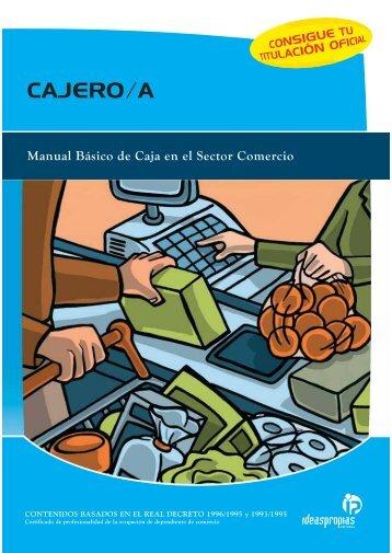 CAJERO/A - Ideaspropias Editorial