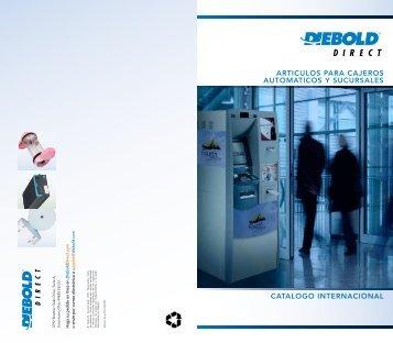 articulos para cajeros automaticos y sucursales ... - DieboldDirect