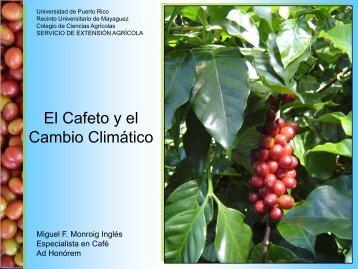 Cafetos y Cambio Climático - UPRM