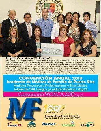 Convención WONCA 2013/Pág. 22 - Academia de Medicos de ...