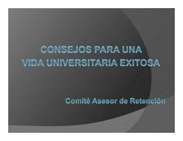 Doce Consejos Para Una Vida Universitaria Exitosa - Universidad ...