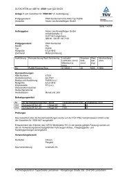 GUTACHTEN zur ABE Nr. 47001 nach §22 Stvzo Anlage 7 ... - Alutec