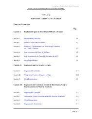 Reglamento para la Atención del Cliente y Usuario - Asfi