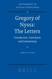 Gregory of Nyssa : the Letters