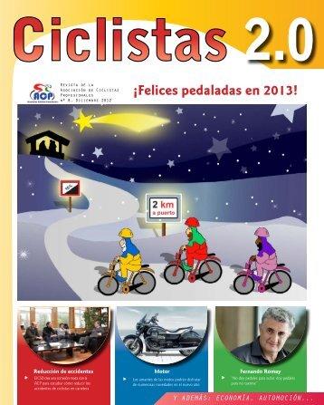 Revista Ciclistas 2.0 – Número 8, Diciembre-Enero2012-2013 - ACP
