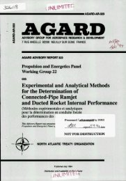 Experimental and analytical methods for the determination of ...